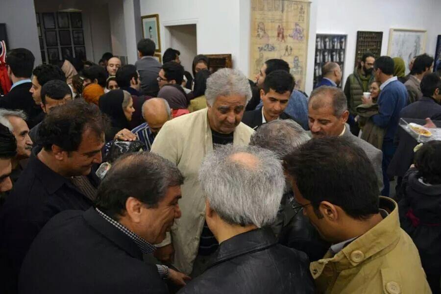 حضور محمد رضا طالقانی در نمایشگاه جهان پهلوان