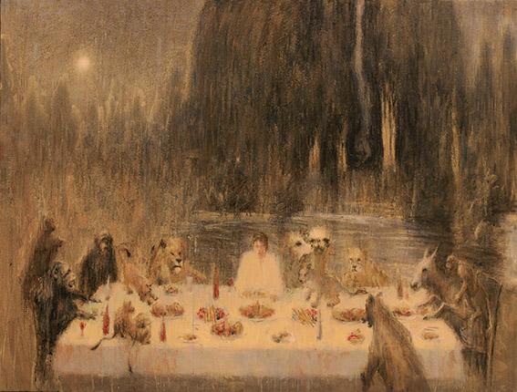 """اثر """"مرتضی خسروی"""" در نمایشگاه """"چند روایت از یک انسان که با امواج ارس به دریا پیوست"""" به گردآورندگی آرش تنهایی"""